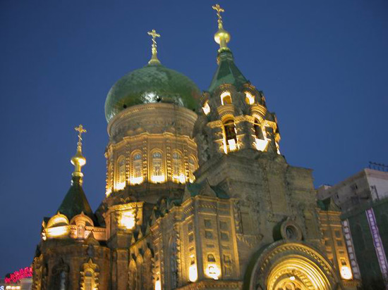 St. Sophia Church, Harbin Travel Photos,Harbin winter activities,Harbin festivals 2011