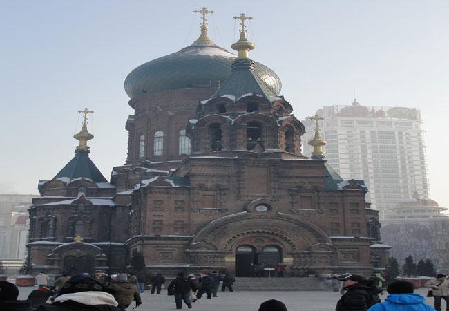 Harbin St.Sofia Church,Harbin Winter,Harbin Travel