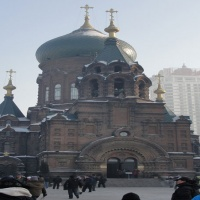 Harbin St.Sofia Church,Harbin Winter,Harbin Travel