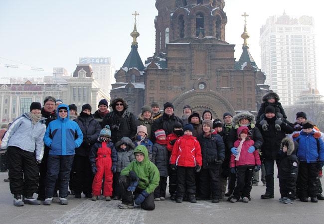 St. Sofia Church,Winter China Tours,Harbin Winter
