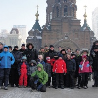 St. Sofia Church,Winter China Tours,Harbin Winter