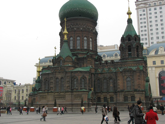 St. Sophia Church, Harbin Travel Photos,China Winter Tours