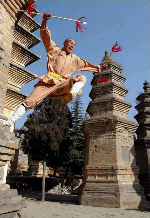shaolin temple china
