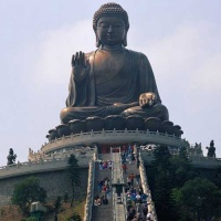 Lautau Big Buddha,Hong Kong Big Buddha, Attractions in Kongkong ...