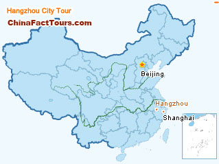 Hangzhou Tourist Map