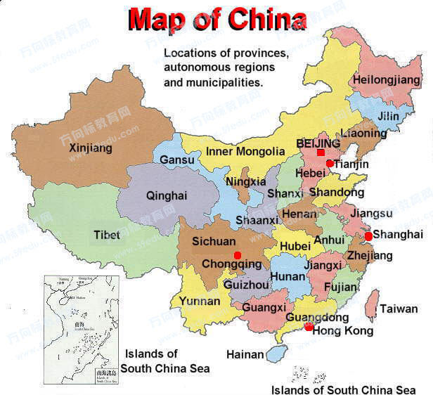 Map of china china maps china maps gumiabroncs Image collections