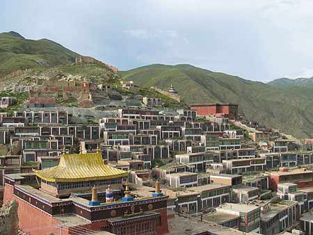 The Pre-seismic Jiegu Lamasery in Yushu, Qinghai province of China