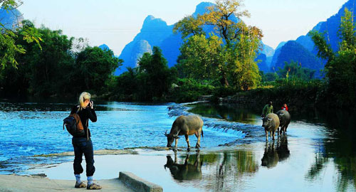 Guilin Tour, Yangshuo Holiday