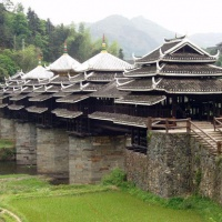 Chengyang Wind and Rain Bridge, Sanjiang Tours