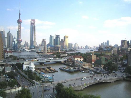 Huangpu River, Cruise in Shanghai
