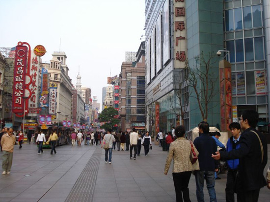 Nanjing Road, Shanghai Shopping Street