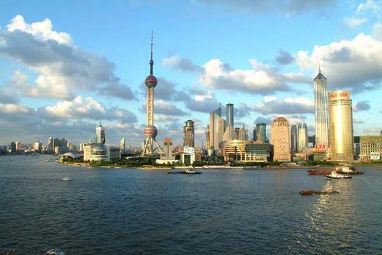 The Bund in Shanghai, World Expo