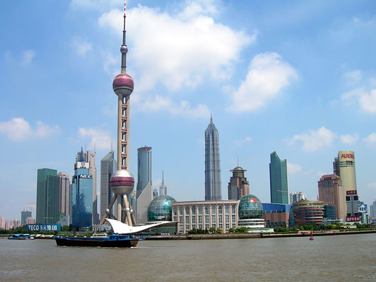 The Bund in Shanghai, Visit Expo