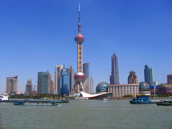 The Bund of Shanghai, Visit Expo