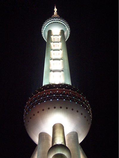 The Pearl Tower, Shanghai TV Tower