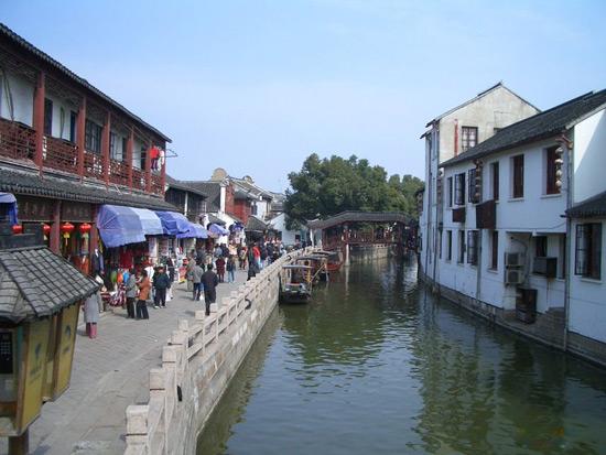 Zhujia Jiao Water Town shanghai
