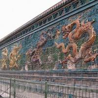 Nine Dragon Screen in Datong