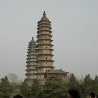 twin pagoda temple taiyuan
