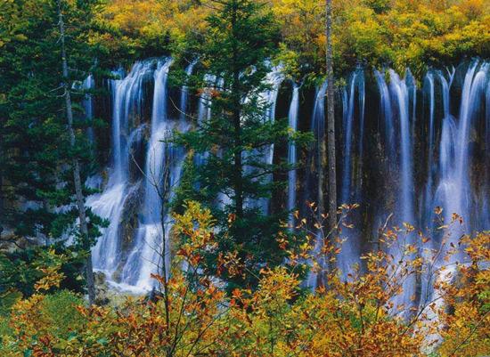 Jiuzhaigou Valley Sichuan China