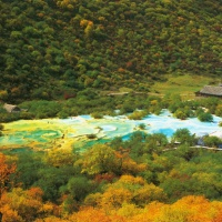 Jiuzhaigou Valley China Photo