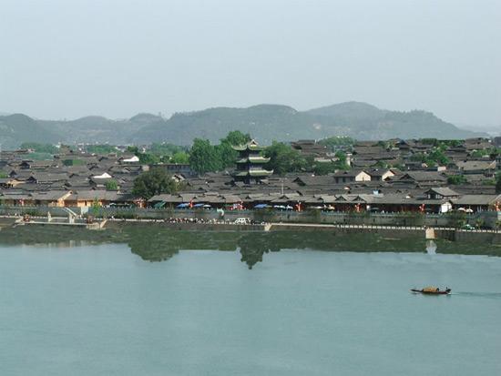 a part of langzhong