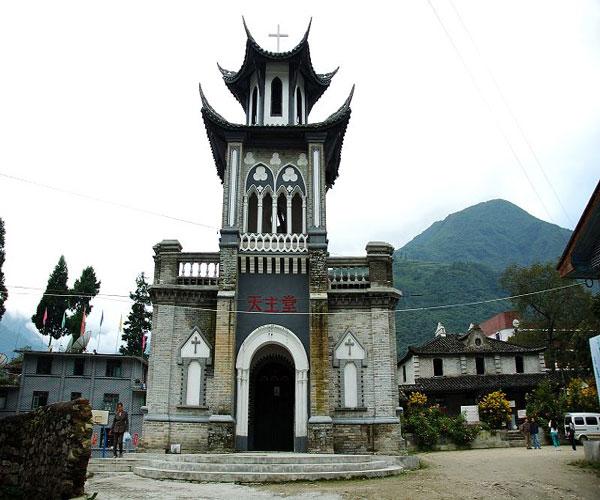 Moxi Old Town Sichuan