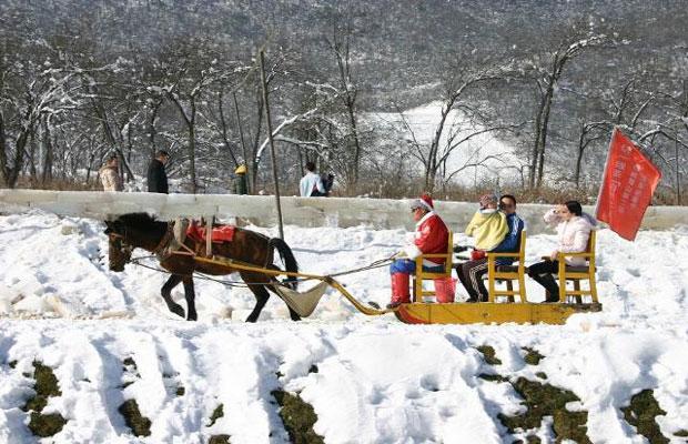 Xiling Snow Moutain in Chengdu