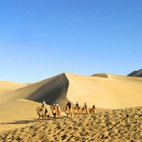 Echoing-Sand Mountain Dunhuang, Silk Road Tours