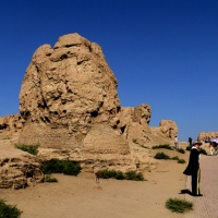 Jiaohe Ruins Turpan, Xinjiang Silk Road