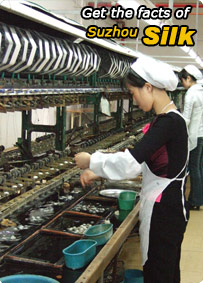 Get the facts of Suzhou Silk