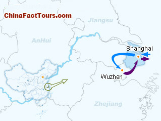 6-Day Shanghai and Wuzhen Tour