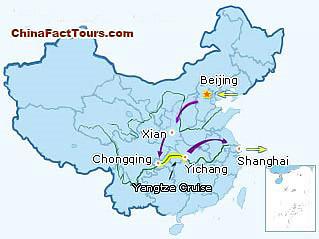 beijing map, shanghai map, xian map