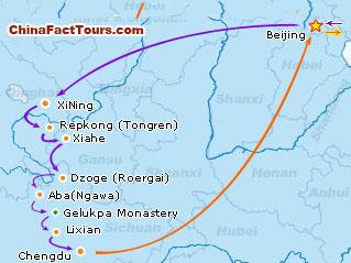 16-Day Tibetan Losar and Monlam Tour