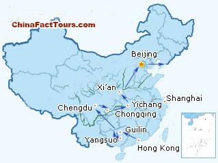 16 Day China Cruise Tour China River Cruise Li River Yangtze