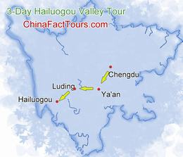 Hailuogou Map
