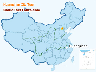 Huangshan Travel Map
