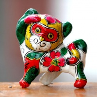 Fengxiang Painted Clay Figurines, Xian Tours