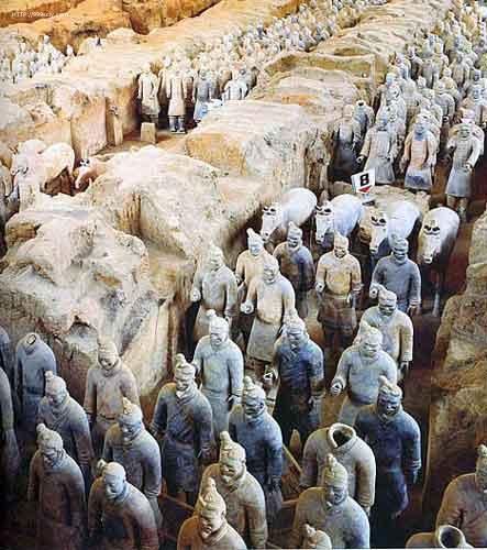 Terracotta Warriors,Terracotta Warriors Xian