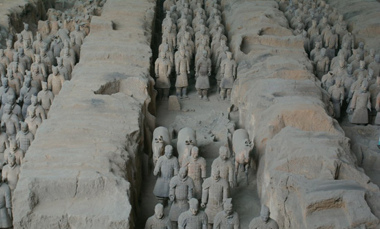 Terracotta Warriors, Terracotta Warriors Xian