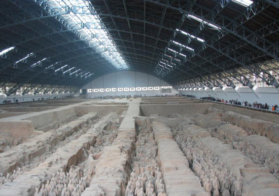 Terracotta Warriors, Terra Cotta