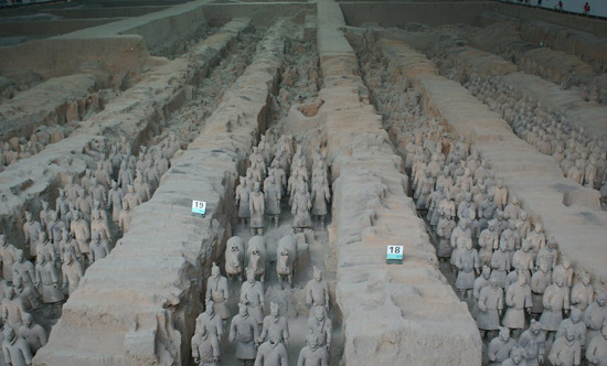 Chinese Terracotta Warriors, Terra Cotta Warriors