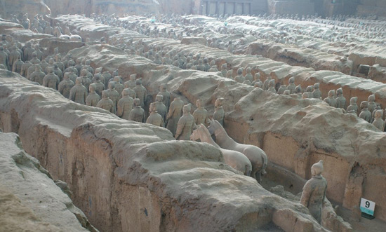 Chinese Warriors, Terra Cotta, Terracotta Army
