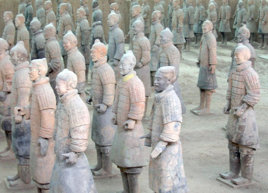 Terra Cotta Warriors, The Terracotta Warriors
