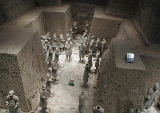 Terracotta Warriors, Chinese Warriors