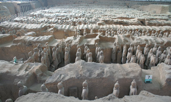 Chinese Warriors, Terra Cotta