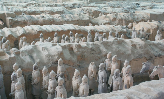 The Terracotta Warriors, Chinese Warriors, Terra Cotta