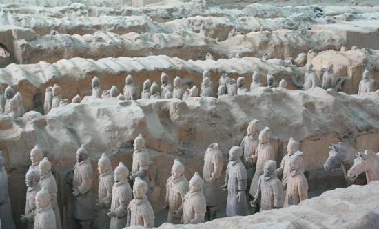 The Terracotta Warriors, Chinese Warriors, Terra Cotta