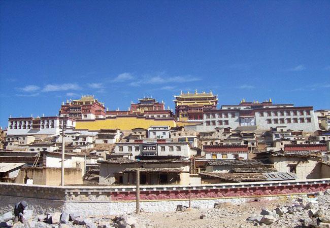 Gedan Songzanlin Lamasery Shangri-la