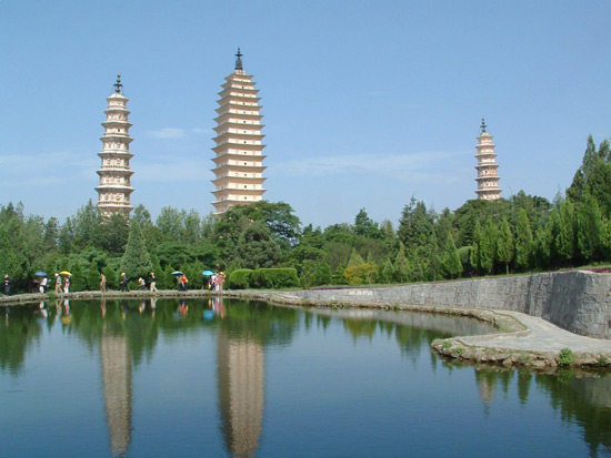 The Three Pagodas