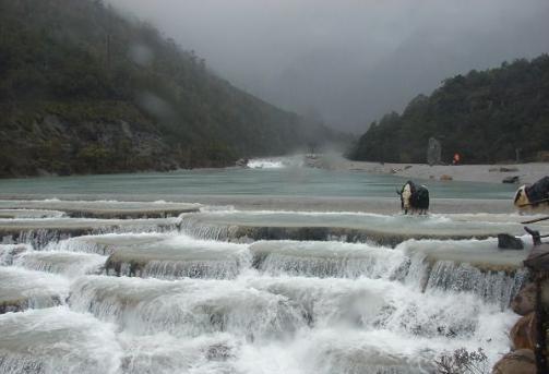 White Water Terraces Yunnan China